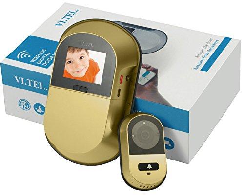 TELESE E0551 40 Digitaler Türspion, Gold