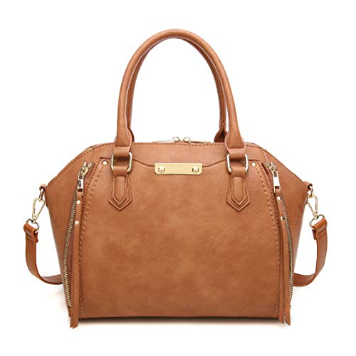 Aitbags Purses and Handbags for Women Tote with Shoulder Strap Big Crossbody Bag Brown
