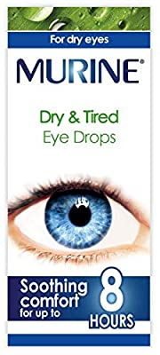Murine Dy & Tired Eye Drops to Help Refresh and Relieve the Feeling of Tired and Dry Eyes, 15 ml from Murine
