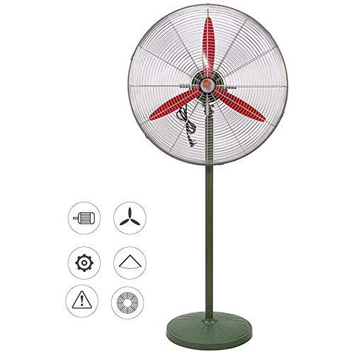 YEXINTMF Oscilante ventilador de pedestal, 3 velocidad oscilante de refrigeración del ventilador de soporte for suelo, altura ajustable, cubierta del ventilador de pedestal for el dormitorio, oficina,