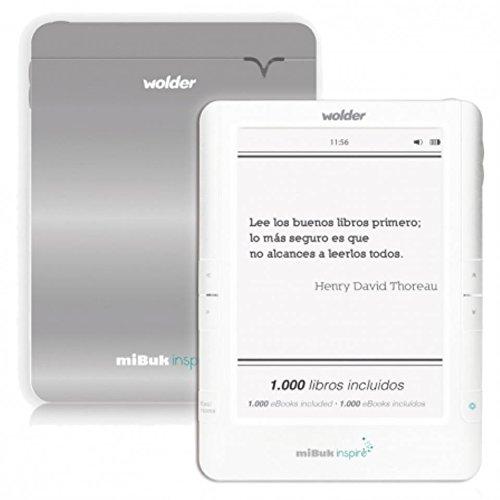 Wolder - Mibuk Inspire 6 e-Ink Pearl WiFi tactil retroiluminado -