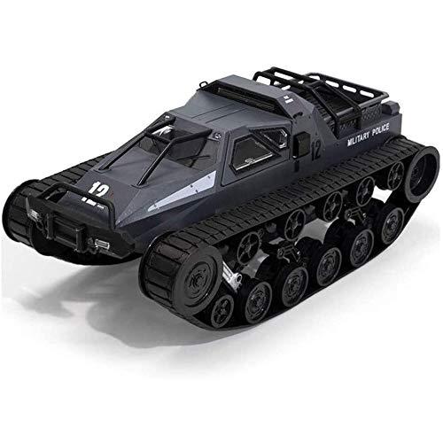 Macchina Radiocomandata Telecomandata RC Carro armato da combattimento 1:12 telecomando Panzer serbatoio Crawlers Chariot 12 km / h da regalo ragazzo Giocattoli for Gioco da Interni Esterni di complea
