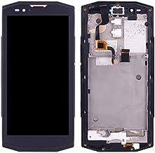 Alsatek Pantalla completa de repuesto para Blackview Bv9000 Pro Black