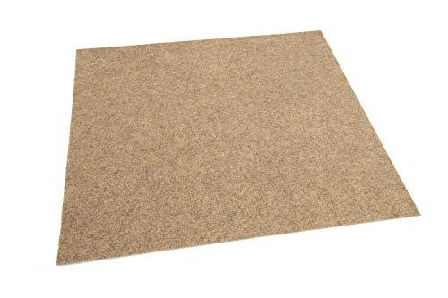 IncStores Ribbed Carpet Tiles Residential Flooring Self Adhering 18