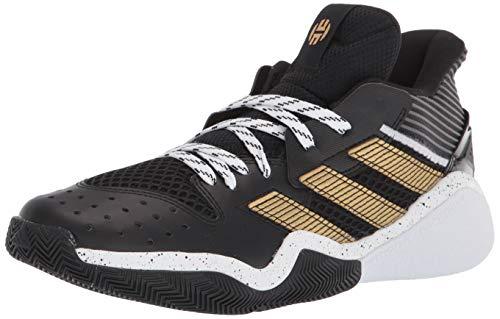 adidas Harden Stepback - Zapatillas de baloncesto, negro (core negro/dorado metálico), 49 EU