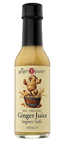 The Ginger Party Organic Ginger Juice 147ml (Pack of 1)
