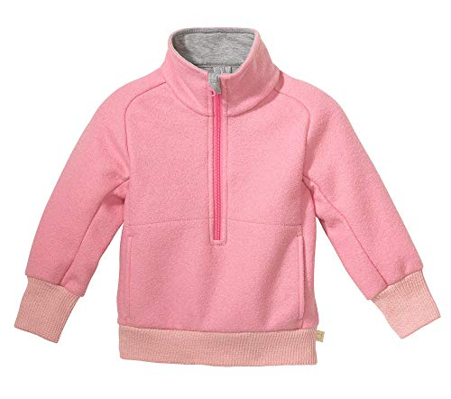 Disana Troyer Zip Pullover (Rosa, 110/116)