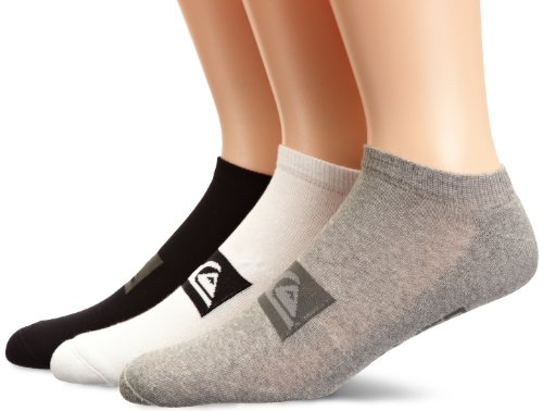 Quiksilver Herren Socken Invisible Pack A X3, assorted, L, KRMSX111-AST