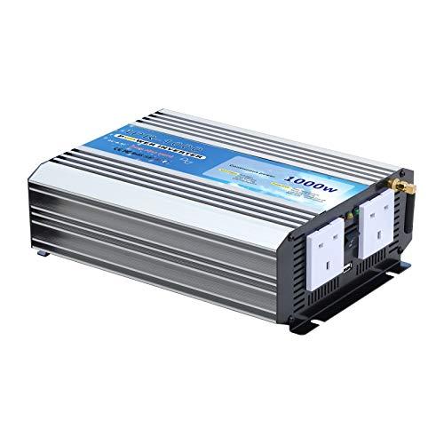 Inversor de corriente CA de onda sinusoidal pura de 1000 W de...