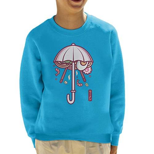Cloud City 7 Ramen Paraplu Sweatshirt voor kinderen