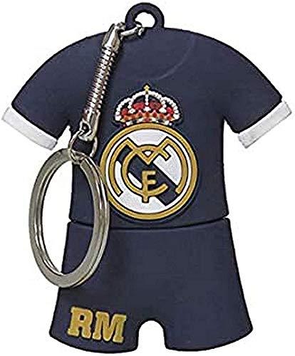 CYP BRANDS Real Madrid USB-13-RM Pendrive Rubber Camiseta, 16GB