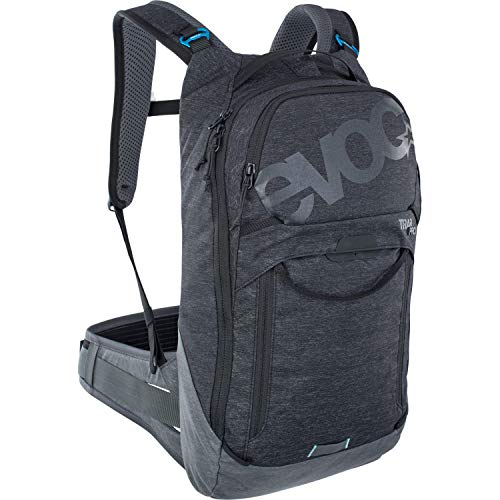 Evoc Trail Pro 10 Black/Grey L/XL Adult Unisex Mountain Bike Backpack with Protection