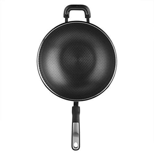 Pot, protectores de pan no tóxico 32x9cm de acero inoxidable hecho de 2,5 mm / 0.1in para cocinar de inducción
