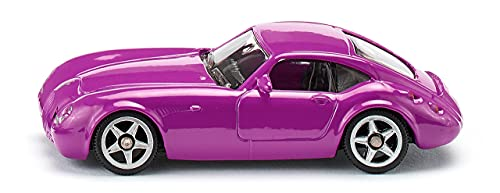 siku 0879, Wiesmann GT MF4, Metall/Kunststoff, Pink, Spielzeugauto für Kinder