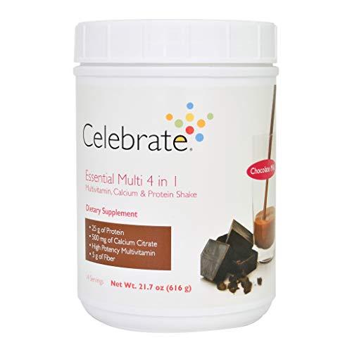 Celebrate Essential Multi 4 in 1 Shake - Chocolate Milk - 14 Serving Tub