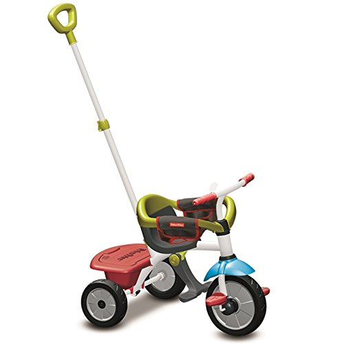 Fisher-Price 3400733 - Triciclo Jolly, Rojo
