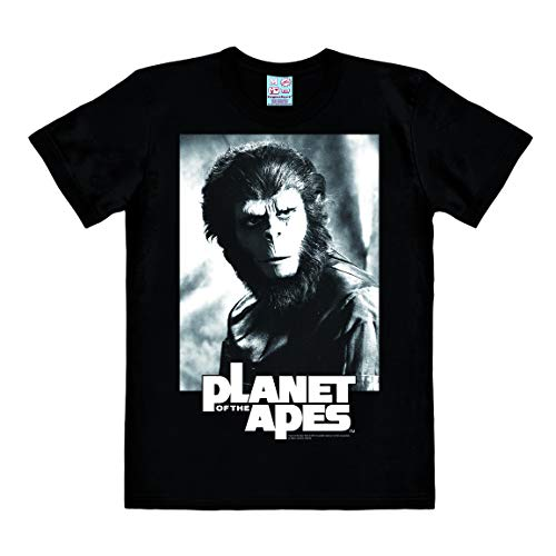 Logoshirt - Film - Planet der Affen - Cornelius - Easy-Fit - T-Shirt Herren - schwarz - Lizenziertes Originaldesign, Größe XXL