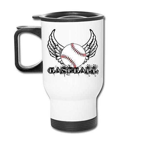 Vaso republicano de béisbol con alas - Vaso con doble aislamiento - Taza de café de 30 onzas para automóvil, viajes, trabajo