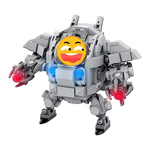 Conjunto de bloques de construcción de metal ensamblados militares tanque de batalla aviones robot armas creador ejército 3d Moc modelo soldados juguetes para niños 232 piezas