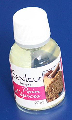 Flacon 27ml parfum liquide pour bougie et savon - Pain d'épices