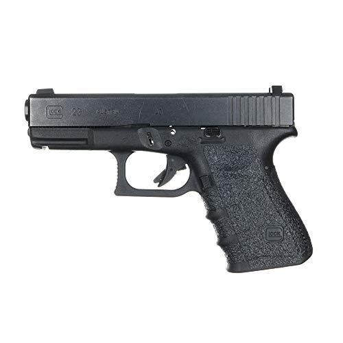 TALON Grips Adhesive Pistol Grip Compatible with Glock 19  23  25  32  38 – Made in The USA – Gen 1  2 & 3 - Rubber Black