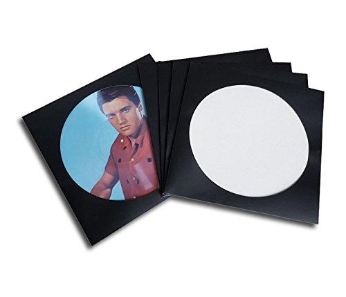 LP Schallplatten Picture Cover schwarz Protected (25 Stück)