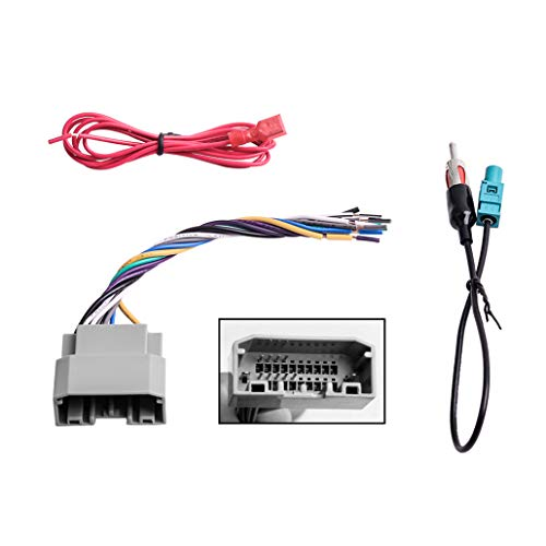 Buying Guide | Car Stereo Radio Wiring Harness Antenna Adapter for Some  Jee...GistGear