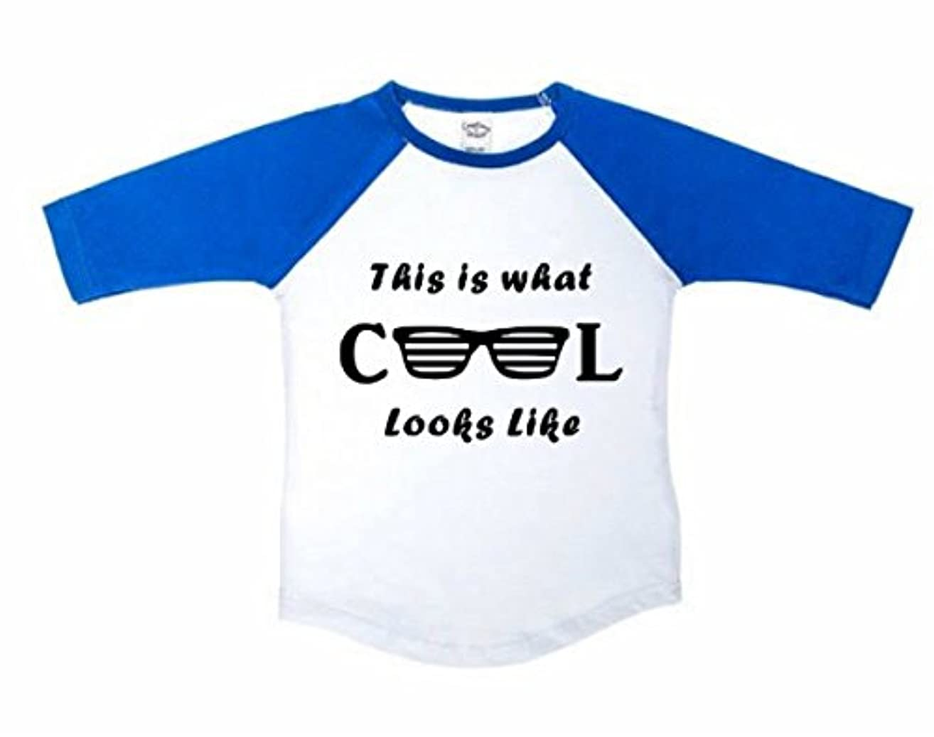 This is what Cool Looks like with Sunglasses Baseball Tee, Funny Toddler Shirt, Unisex boy or girl shirt