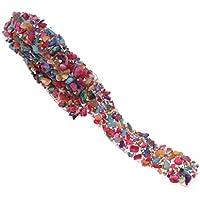 SUPVOX 1 metro de faja de vestido de diamantes de imitación de colores bling para faja de vestir diy cinturón bolsas zapatos adornos