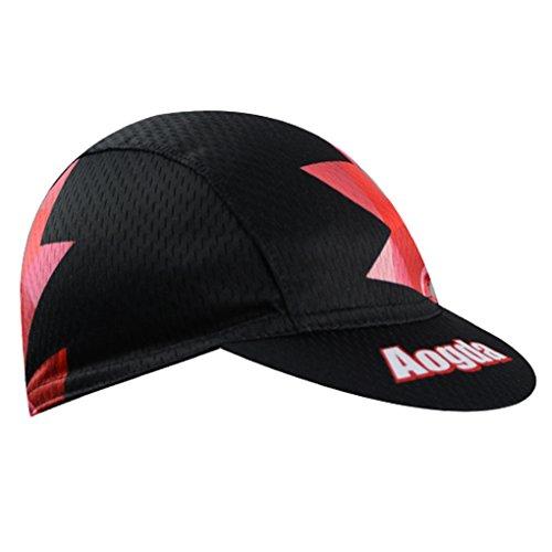 YIDUN - Radsport-Kappen für Jungen in Debris Red, Größe Einheitsgröße