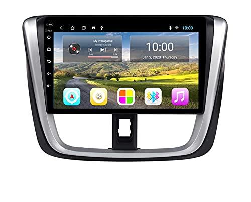 ZBHWYD Adecuado para 16-17 Fengtian VIOS Android Control Central Control Modified Navegación De Pantalla Grande, 2GB + 32 GB De Navegación GPS Audio Video Reproductor De...