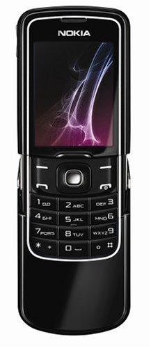 Nokia 8600 Luna telefono cellulare nero