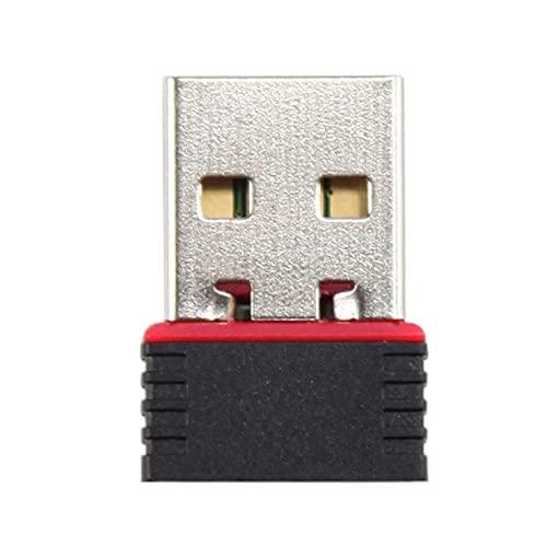 Golook • Mini Chiavetta USB Wireless WiFi 300Mbps 2.4GHz • Dimensioni Ridotte • Adattatore USB Scheda di Rete • USB 2.0 • Compatibile Windows 10/8.1/8/7, Mac OS, Linux
