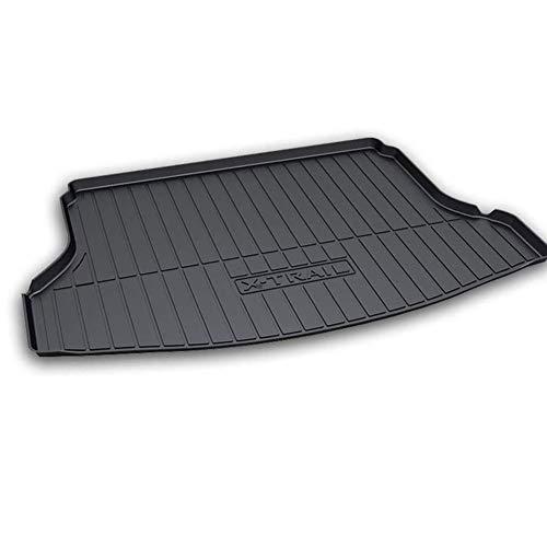 BNHHB Kofferraumwanne Laderaumwanne für Nissan X-Trail 2014-2019, Gummi Kofferraummatten Laderaumschale Schutzmatte, Auto Kofferraumschutz Matte Zubehör