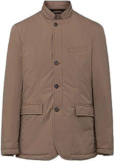 Men's Hackett London Padded Blazer in Taupe (L) (L)