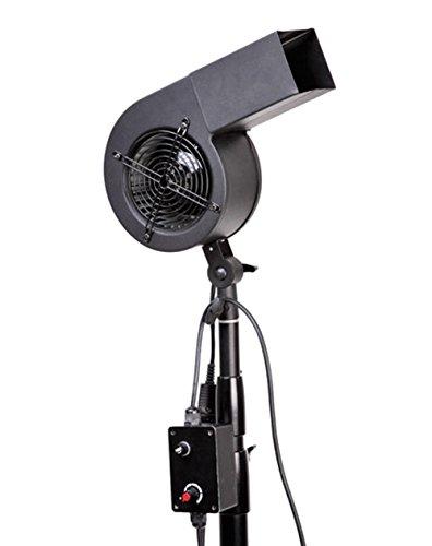 """Bresser FS-02 Windy Windmaschine \""""2600 U.p.m\"""" schwarz"""