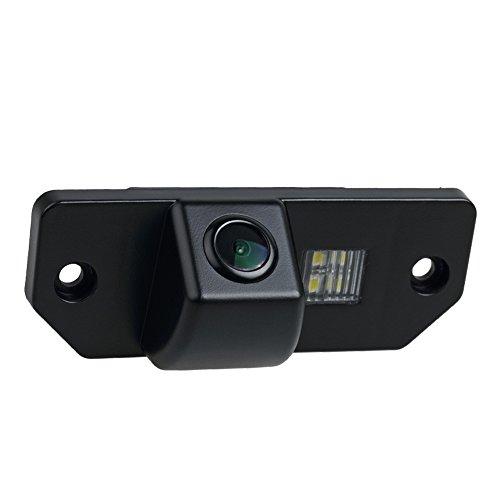 Cámaras de visión trasera Universal Vista trasera cámara HD CCD Chip para Ford Mondeo Mk3 Mk4 Ford Focus Sedan (2) (3) Sedan C-Max