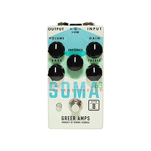 Greer Amps SOMA '63 Vintage Preamp Guitar Effect
