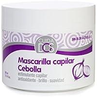 Cuidados Mascarilla Capilar de Cebolla, Antioxidante, Estimulante Capilar, Purificante, Reparadora, Brillo y Suavidad, sin Olor a Cebolla- 300 ml