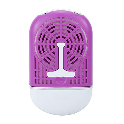 Ventilateur portatif de climatisation de ventilateur d'USB mini pour l'outil de salon de beauté d'extension de cils( Violet)