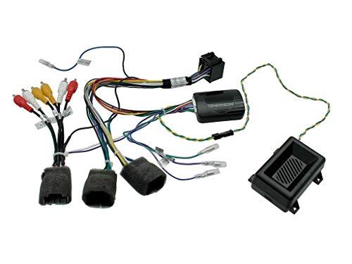 Interface Commande au volant CV6J compatible avec Chevrolet 07-14 Avec ampli JVC