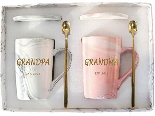 Grandma Grandpa Mugs