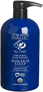 Dr. Bronner 709 ml Organic Liquid Peppermint Hand Soap
