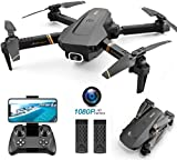 4DRC V4 Foldable Drone with 1080p HD Camera for Adults and Kids, Wide