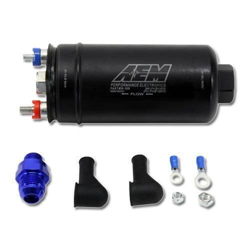 AEM 50-1005 Hochdruck-Kraftstoffpumpe Inline, Schwarz