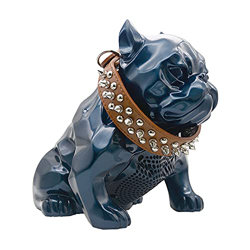 ZEIYUQI Bulldog Beagle Altavoz Bluetooth Inalámbrico,Altavoz USB Recargable de Alta Fidelidad para el Hogar Compatible con AUX TWS,Otros Dispositivos Habilitados para Bluetooth,Altavoz único de 8W