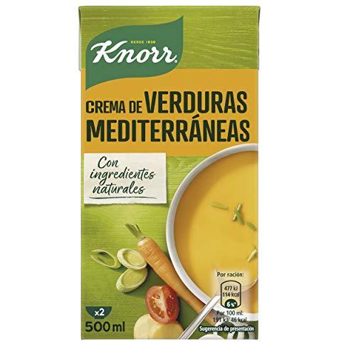 KNORR las clásicas crema verduras mediterráneas 500 ml