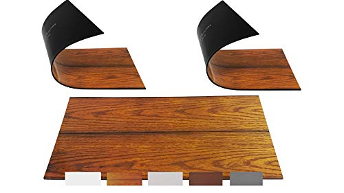 """5.5"""" x 12 """" Extra Magnetic Floor Vent Covers Stronger Magnet for Floor Air Registers for RV, Home HVAC, AC and Furnace Vents (Not for Ceiling Vents) (3 Pack, Woodgrain)"""