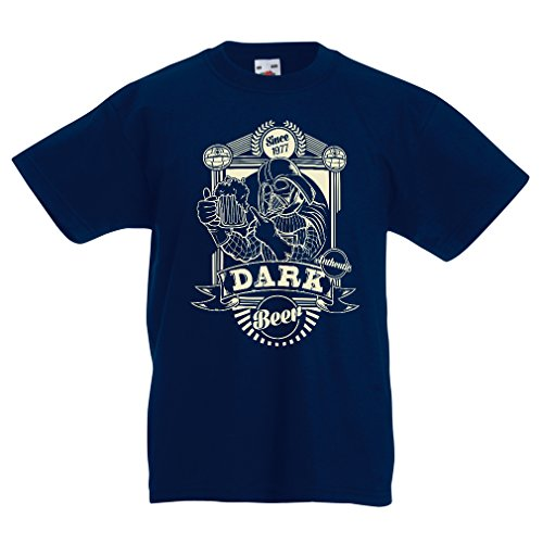 N4346K La Camiseta de los niños Cerveza Oscura (3-4 Years...