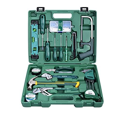 juego de alicates Juego de combinación de hardware Home Toolbox Caja de herramientas de 25 piezas Reparación de plomería para el hogar Conjunto completo Home Professional Repair Manual Kit de herramie